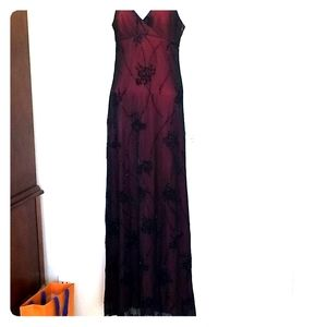 Long beaded dress by Cache
